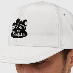 Кепка-снепбек The Beatles Band цвета белый — фото 1