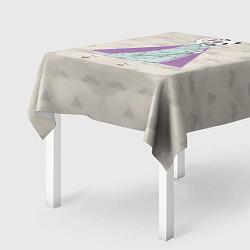 Скатерть для стола Panda Girl: yes yes? цвета 3D — фото 2