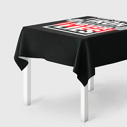 Скатерть для стола The iron never lies цвета 3D — фото 2