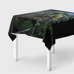 Скатерть для стола Военная разведка цвета 3D — фото 2