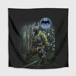 Скатерть для стола Военная разведка цвета 3D — фото 1