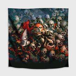Скатерть для стола Warhammer 40k: Skulls цвета 3D — фото 1