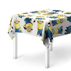 Скатерть для стола Minions Pattern цвета 3D-принт — фото 2