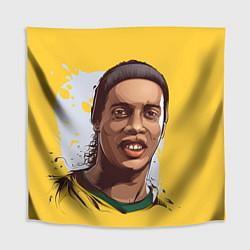 Скатерть для стола Ronaldinho Art цвета 3D-принт — фото 1