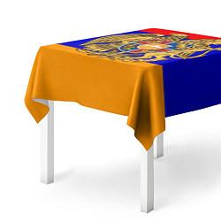 Скатерть для стола Герб и флаг Армении цвета 3D — фото 2