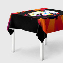 Скатерть для стола Че Гевара цвета 3D-принт — фото 2
