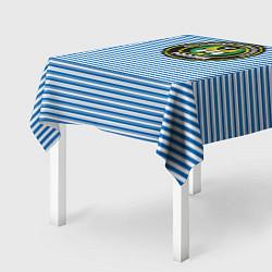 Скатерть для стола Тельняшка АВ РФ цвета 3D — фото 2