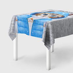 Скатерть для стола Модная киска цвета 3D — фото 2