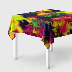 Скатерть для стола Кислотный взрыв цвета 3D — фото 2