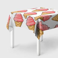 Скатерть для стола Мороженки цвета 3D — фото 2