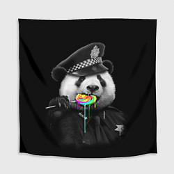 Скатерть для стола Панда с карамелью цвета 3D — фото 1