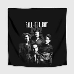 Скатерть для стола Fall out boy band цвета 3D — фото 1