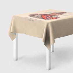 Скатерть для стола Александр Невский 1220-1263 цвета 3D — фото 2