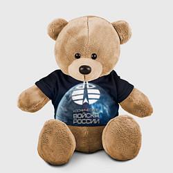 Игрушка-медвежонок Космические войска цвета 3D-коричневый — фото 1