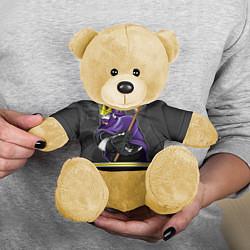 Игрушка-медвежонок Los Angeles Kings цвета 3D-желтый — фото 2
