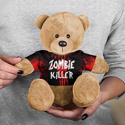 Игрушка-медвежонок Zombie Killer цвета 3D-коричневый — фото 2