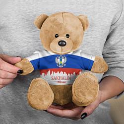 Игрушка-медвежонок Sakhalin: Russia цвета 3D-коричневый — фото 2