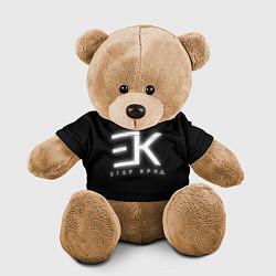Игрушка-медвежонок Егор Крид цвета 3D-коричневый — фото 1