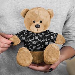 Игрушка-медвежонок Chemical Brothers: Pattern цвета 3D-коричневый — фото 2