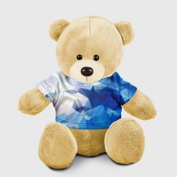 Игрушка-медвежонок Абстракция цвета 3D-желтый — фото 1