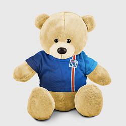 Игрушка-медвежонок Сборная Исландии по футболу цвета 3D-желтый — фото 1
