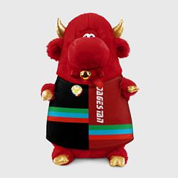 Игрушка-бычок Dagestan цвета 3D-красный — фото 1