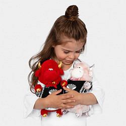 Игрушка-бычок Daewoo: Black Spray цвета 3D-красный — фото 2