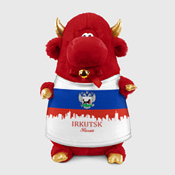 Игрушка-бычок Irkutsk: Russia цвета 3D-красный — фото 1