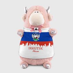 Игрушка-бычок Irkutsk: Russia цвета 3D-светло-розовый — фото 1