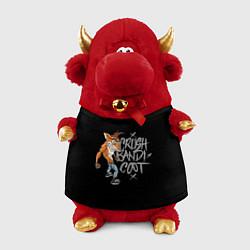Игрушка-бычок Crush Bandicoot цвета 3D-красный — фото 1