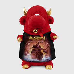 Игрушка-бычок Alestorm: Golden Ship цвета 3D-красный — фото 1