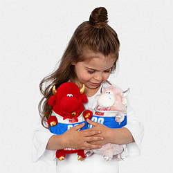 Игрушка-бычок Russia: from 68 цвета 3D-красный — фото 2