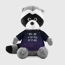 Игрушка-енот Coldplay: Night Sky цвета 3D-серый — фото 1