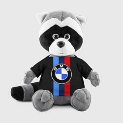 Игрушка-енот BMW: M Black Carbon цвета 3D-серый — фото 1