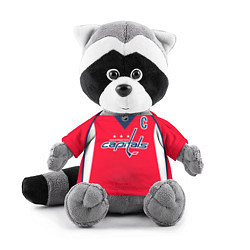Игрушка-енот Washington Capitals: Ovechkin Red цвета 3D-серый — фото 1