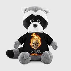 Игрушка-енот In Flames цвета 3D-серый — фото 1