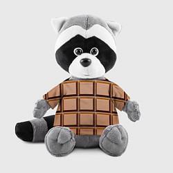 Игрушка-енот Шоколад