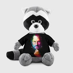 Игрушка-енот Стив Джобс цвета 3D-серый — фото 1