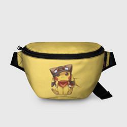 Поясная сумка Pikachu цвета 3D — фото 1