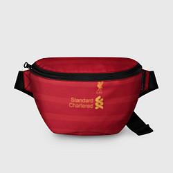 Поясная сумка Liverpool FC: Standart Chartered цвета 3D-принт — фото 1