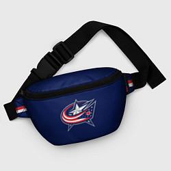 Поясная сумка Columbus Blue Jackets цвета 3D — фото 2