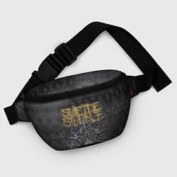 Поясная сумка Suicide Silence: The Black Crown цвета 3D-принт — фото 2