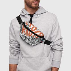 Поясная сумка Paramore: Riot цвета 3D — фото 2