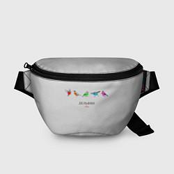 Поясная сумка Дельфин: Она цвета 3D-принт — фото 1