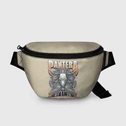 Поясная сумка Pantera: Wild Goat цвета 3D-принт — фото 1