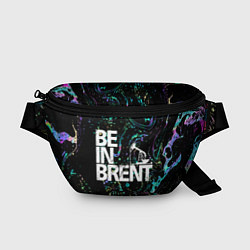 Поясная сумка Be in brent цвета 3D-принт — фото 1