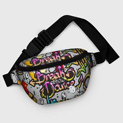 Поясная сумка Break Show Dance цвета 3D-принт — фото 2