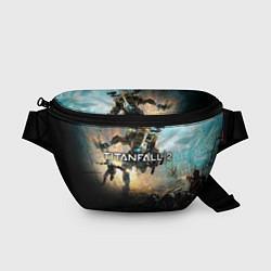 Поясная сумка Titanfall Battle цвета 3D-принт — фото 1