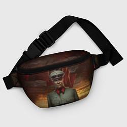 Поясная сумка Wolfenstein: Wilhelm Strasse цвета 3D-принт — фото 2
