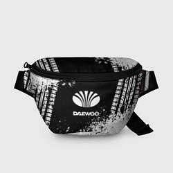 Поясная сумка Daewoo: Black Spray цвета 3D — фото 1
